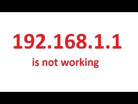 192.168 1.1